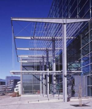 Biokeskus 3 toimiston jäähdytys ikkunakalvot