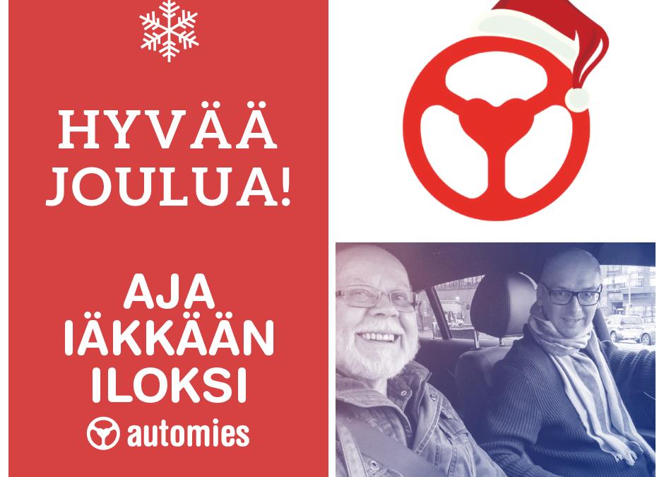 Hyvää Joulua, Automies, Aja iäkkään iloksi