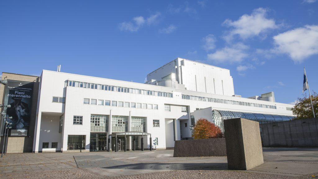 Oopperatalo, Suomen Ooppera ja Baletti, 3M ikkunakalvot